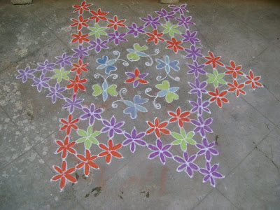 Done by me on Pongal Day