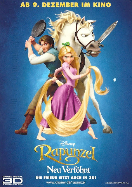 Rapunzel tangled 3d disney movie