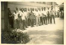 Papai com colegas de trabalho