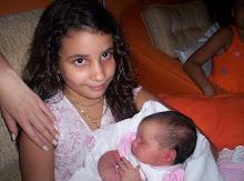 minhas netas Chandra e Lara