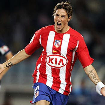 Fernando Torres with tribal tattoos images on