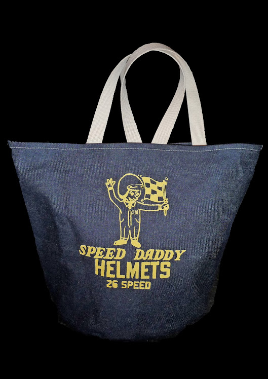 SPEED DADDY DENIM HELMET BAG