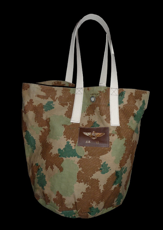 SPLINTER PATTERN CAMO HELMET BAG