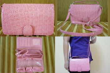 WHPO croco Pink