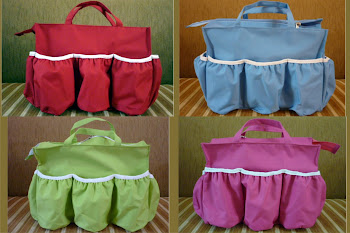 Baby Diaper Bag Organizer  POLOS / CLASSIC dgn Ritsleting YKK