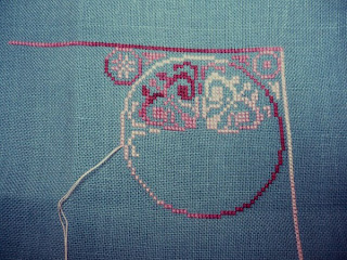 Схема косого плетения фенечки