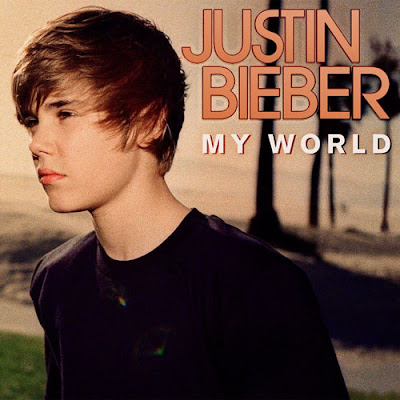 justin bieber my world album art. Justin Bieber