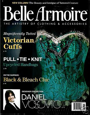 "Visit our NEW  ""Tattered Couture"" Column in Belle Armoire"