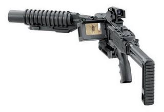 Senjata canggih bisa nembak tanpa tatap muka !!!