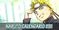 naruto shippuden calendario 2011