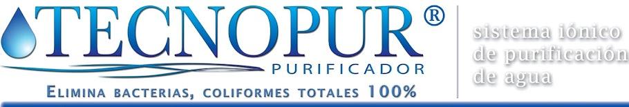 Tecnopur, purificador de agua, sistema iónico de purificación de agua