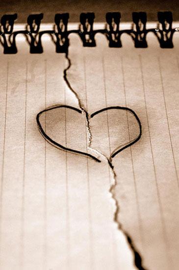 corazones rotos de amor. corazones rotos poemas