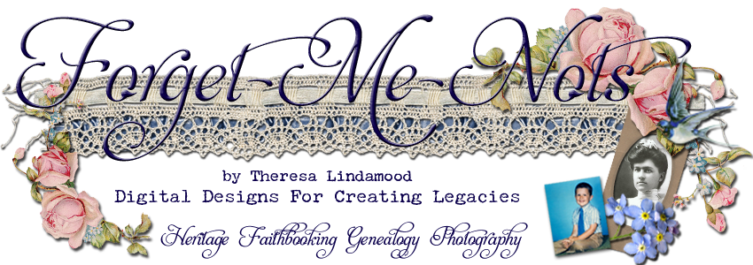 Forget Me Nots Design