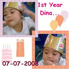 Dina 1 thn