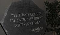 Aqui no hay artistas,... hay ladrones