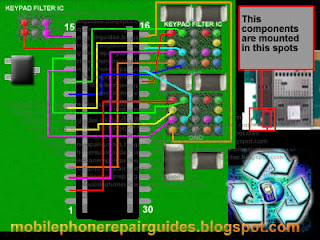nokia e63 keypad ic full ways tracks
