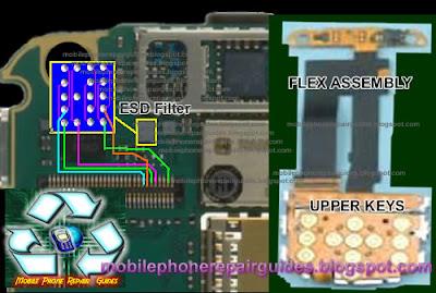nokia 6710 keypad jumper ways tracks'border=