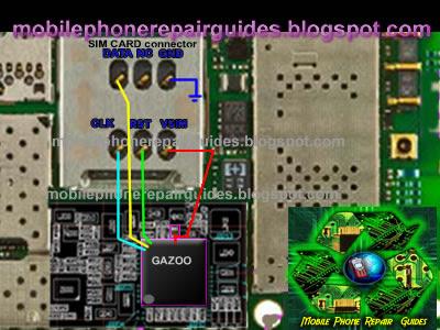 nokia 6700s sim card jumper ways tracks