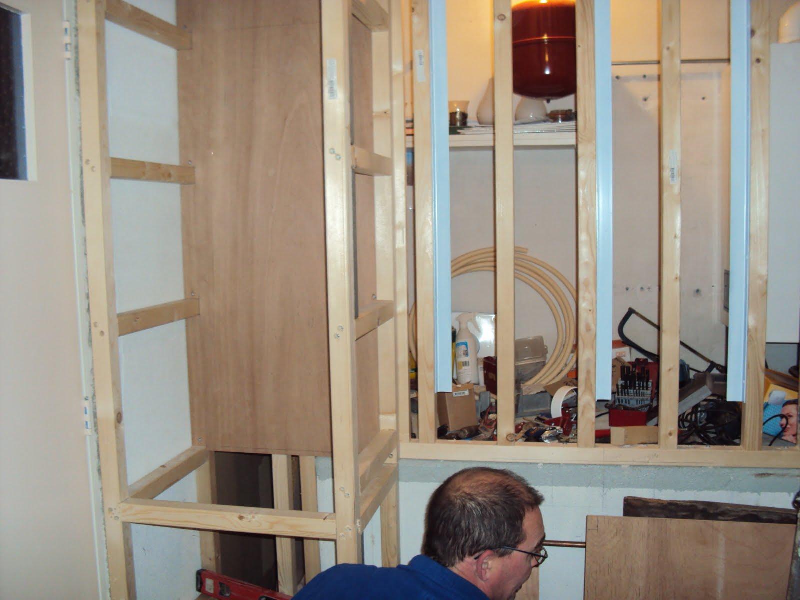 T brocante sfeertje onze nieuwe badkamer - Idee van deco badkamer ...