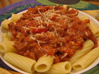 ... Food Journey: Beef Rigatoni in an Intensely Tomato-y Cream Sauce