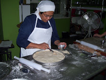 Sister Maria Carmela on Pizza Class