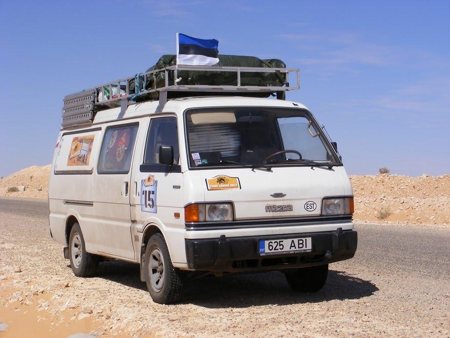 Bf Goodrich At >> Tarmo RTW: Mazda E2200 Van