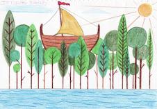 Το πλωτό δάσος από το Λουκιανό