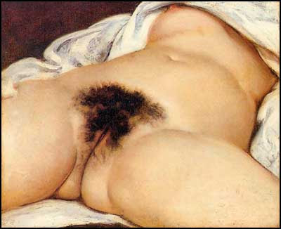 L'Origine du Monde - Gustave Courbet [clique para ampliar]