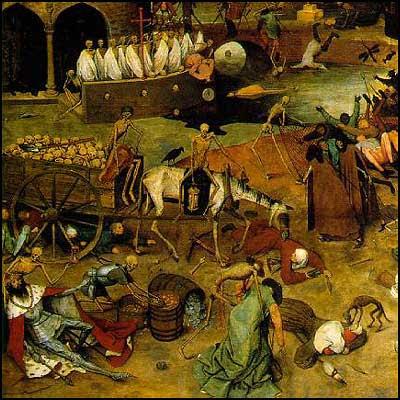 Triunfo da Morte - Pieter Bruegel [clique para ampliar]