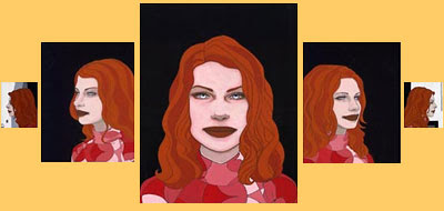 Tara McPherson - A Friend as Viewed from 5 Angles
