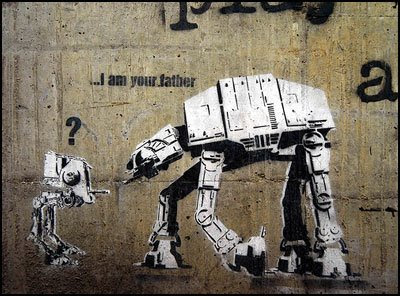 I am your father - Dolk
