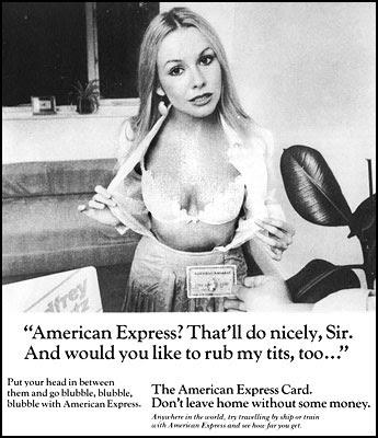 American Express - Not the nine o'clock news