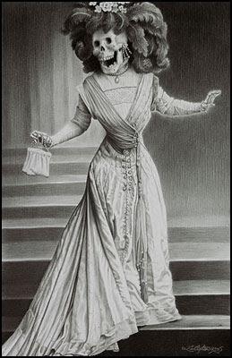 La Catrina - Laurie Lipton