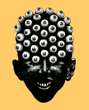 David Foldvari - eyeface