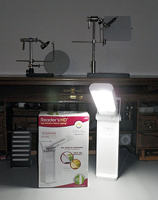 Fly And Fin Ottlite Rechargeable Battery Task Lamp