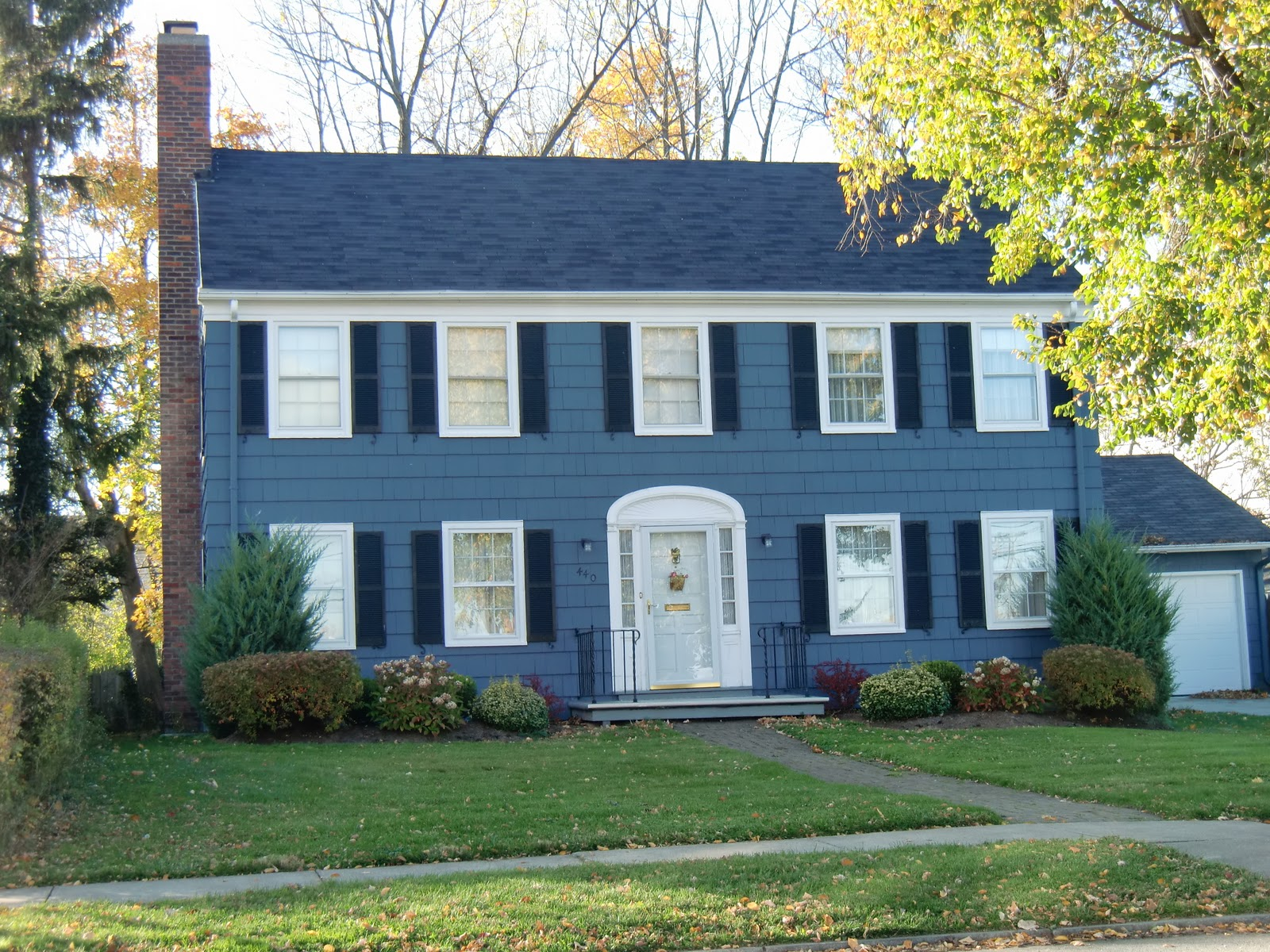 Into the great wide open buffalo architecture for Federal style home exterior paint colors