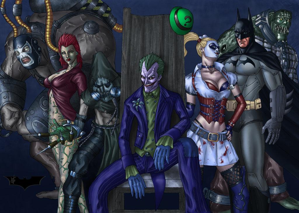 DC Comics Anunciou Batman  Arkham Asylum E Batman  Arkham City Vai