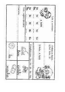 B0001 ATIVIDADES 2 ANO para crianças