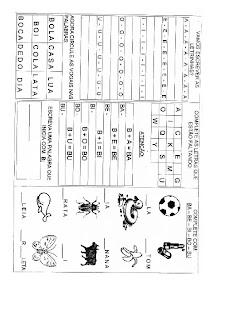 B0011 ATIVIDADES 2 ANO para crianças