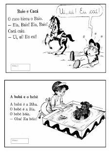 Letra+B +ficha+de+leitura ATIVIDADES 2 ANO para crianças