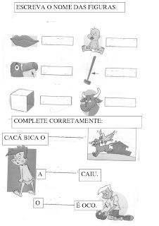 ATIVIDADE+CA+CO+CU+C%C3%83O+3 ATIVIDADES COM A LETRA C para crianças