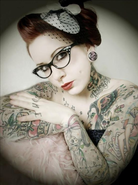 Beautiful Tattooed Girls Gallery