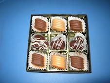 9 kuantiti bentuk coklat