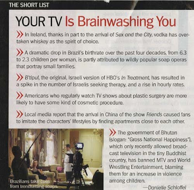 TV is Brainwashing You!
