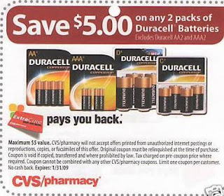 Duracell Coupon