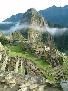 Look its Machu Picchu!