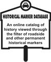 HISTORICAL MARKER DATABASE