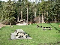 Camp Kitchen and Picnic Grounds at Bowman Bay
