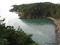 Fidalgo headlands viewed from the bridge