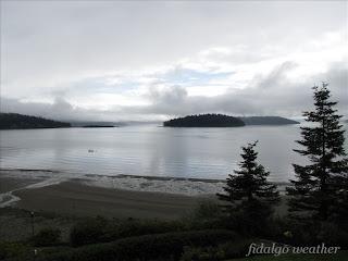 The sky is falling on Skagit Bay
